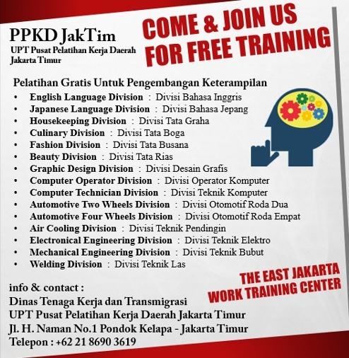 PPKD JakTim BLK Jakarta Timur BLKD