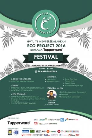Bandung Eco Project Taman Ganesha 31 Januari 2016