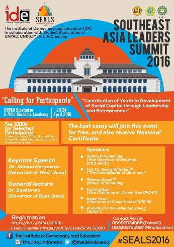 Bandung Leadership Summit 20-24 Maret 2016