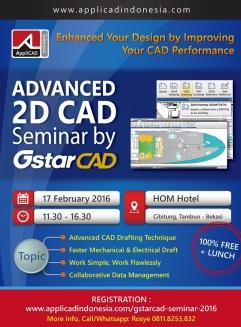 Bekasi Seminar 2D CAD 17 Februari 2016