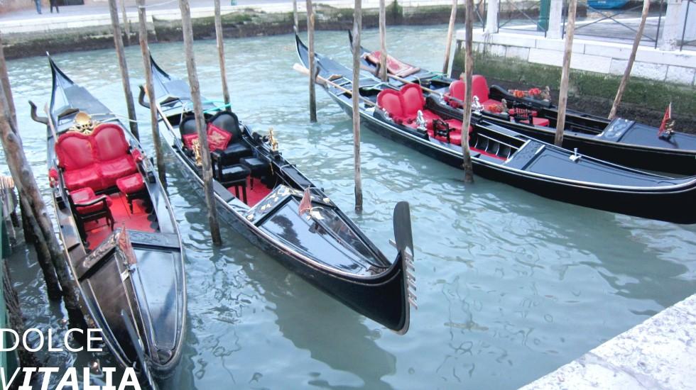 Gondolas from Venezia