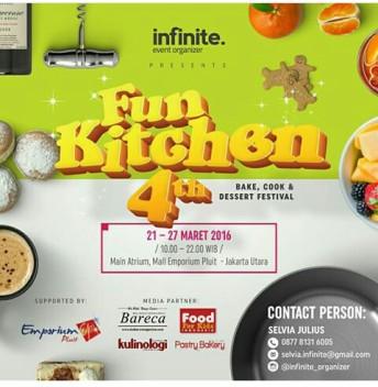 Jakarta Fun Kitchen Cooking Festival 21-27 Maret 2016