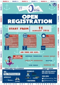 Jakarta iTechno Cup 22-26 Februari 2016