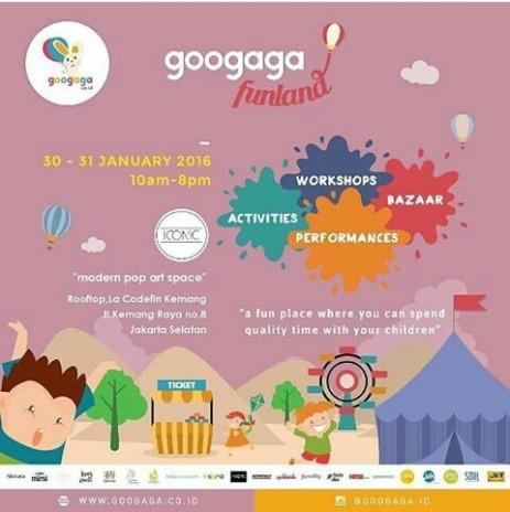 Jakarta Kids Funland GooGaga 30-31 Januari 2016