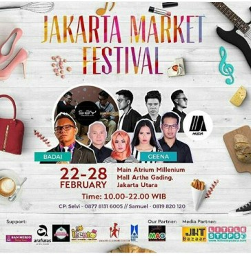 Jakarta Market Festival 22-28 Februari 2016