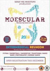 Jakarta Moestopo Cup Annual Art Moescular 14-20 Maret 2016