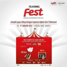 Jakarta TelkomselFest 13-17 Januari 2016