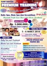 Malang Launching Bisnis Kesehatan & Kecantikan Holistic Care 5-6 Maret 2016