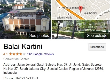 Balai Kartini Jakarta Pusat