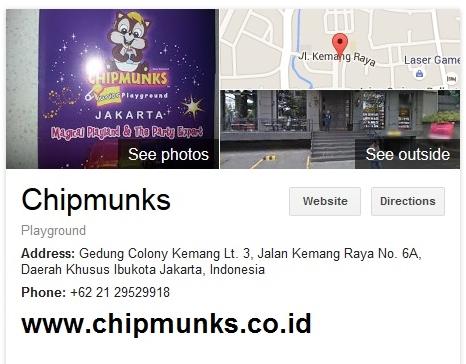 Chipmunks Playland Jakarta