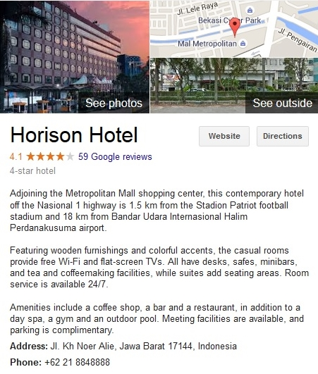 Horison Hotel Bekasi