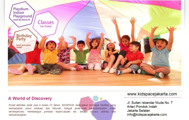 Kidspace Pondok Indah Jakarta Selatan