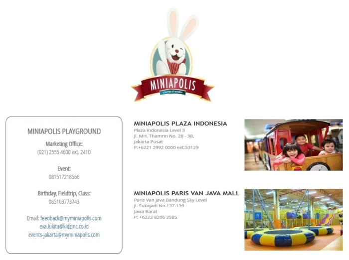My Miniapolis Kids Playground Indonesia