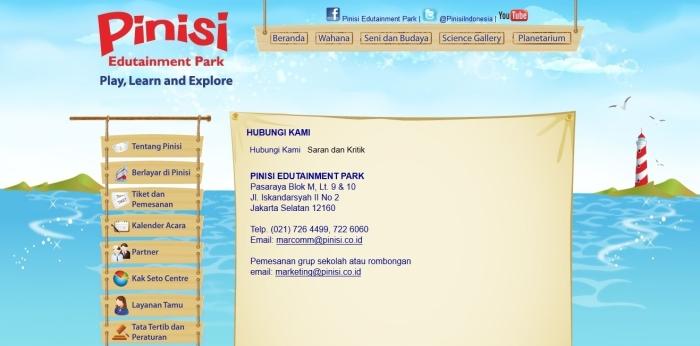Pinisi Edutainment Blok M Jakarta Selatan
