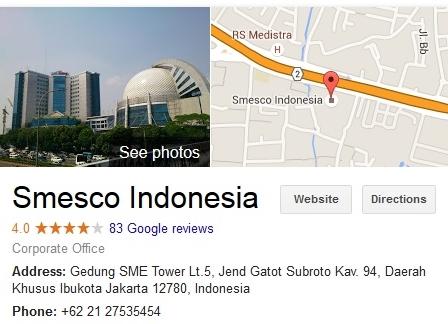 SMESCO Building Jakarta Pusat