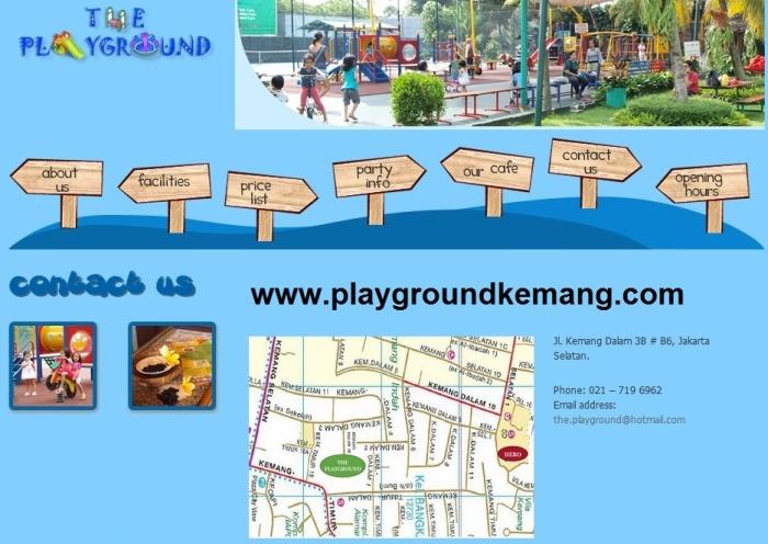 The Playground Kemang Jakarta Selatan
